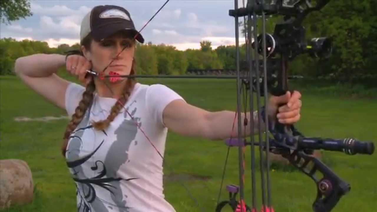 How To Find Draw Weight For Compound Bow With Melissa Bachman Youtube