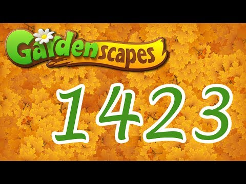 Gardenscapes level 1423