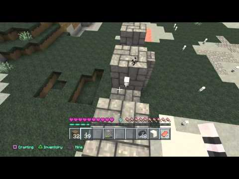 Minecraft 100%  survival #5 (mining and creepers)