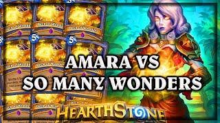 Hearthstone Deck of Wonders VS Amara Quest Priest  ~ Kobolds & Catacombs