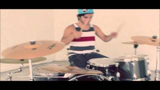 Wooly - Breathe Carolina. Drum Cover