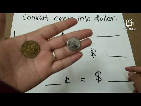 Primary 2 Maths: (4) Convert Cents Into Dollar And Vice Versa