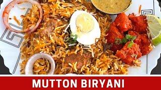Easy Mutton Biryani Recipe / Mutton Biryani
