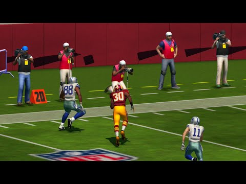 Madden NFL 17 Week 2 Dallas Cowboys vs Washington Redskins