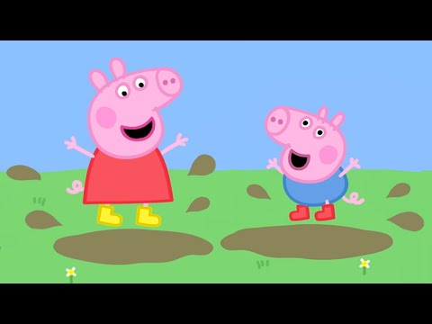 Peppa Pig Episodes - Daddy Pig Rescues Teddy (clip) - Cartoons for Children