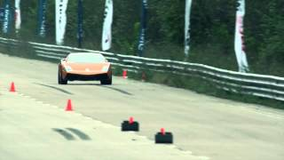Lamborghini on fire — Top Speed Record, 402 kph 250 mph) on one mile