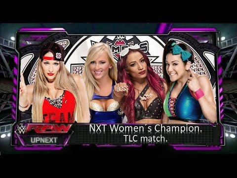Wwe 2k15 - Nikki Bella Vs.  Sasha Banks Vs.  Bayley Vs.  Summer Rae