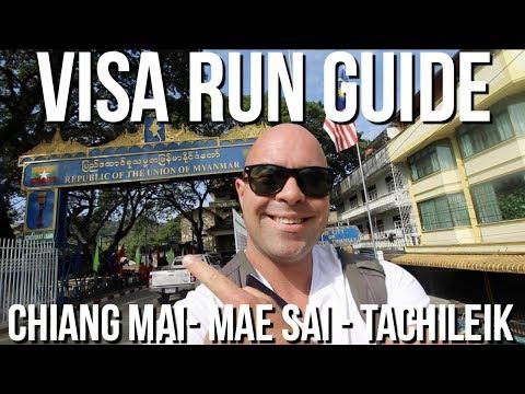 Chiang Mai Thailand Visa Run GUIDE: Chiang Mai to Mae Sai to Tachileik