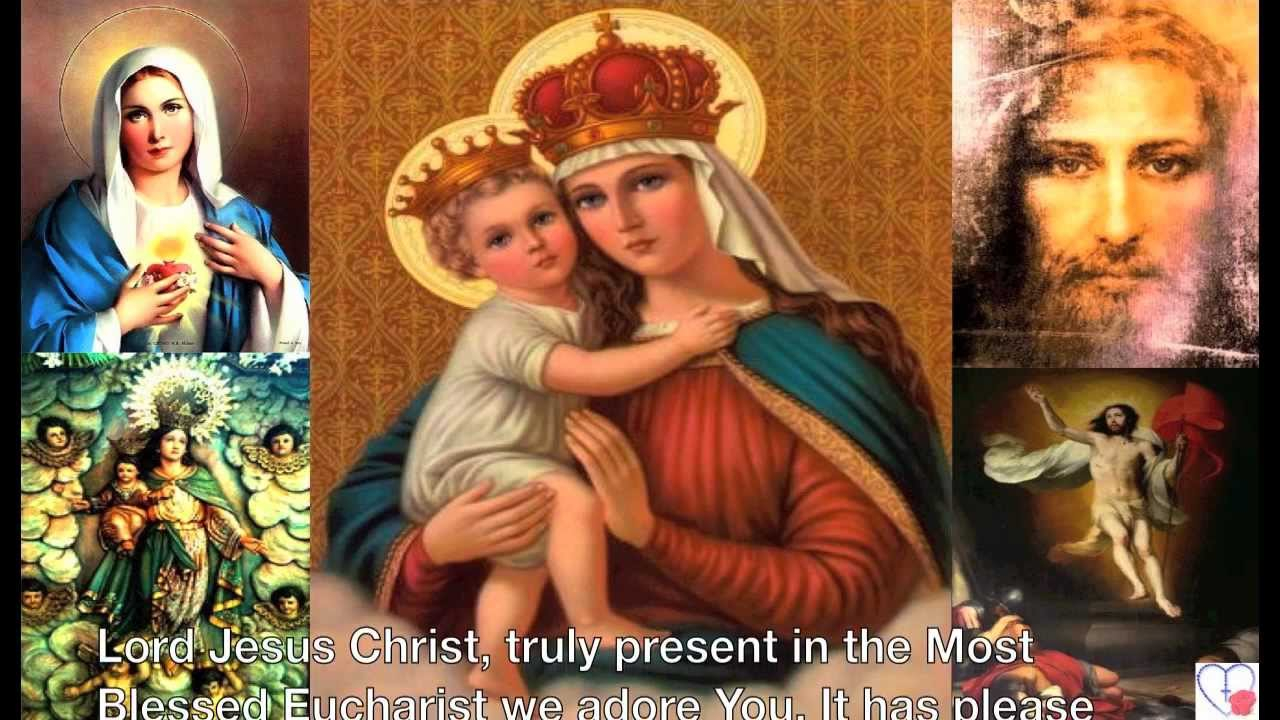 novena prayers to our mother of perpetual help youtube