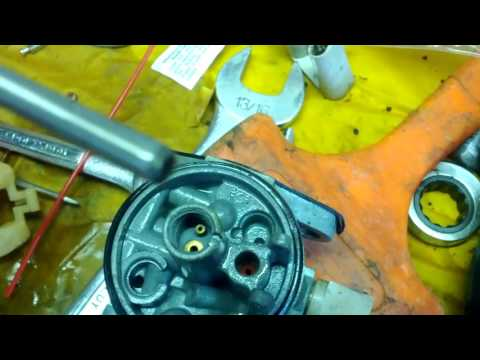 Briggs and stratton carb repair wont run without choke REPAIR!
