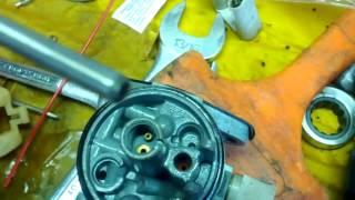 Briggs and stratton carb repair wont run without choke REPAIR!