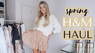 H&M SPRING HAUL & TRY ON | Louise Cooney