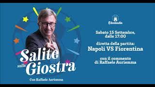 Napoli-Fiorentina 1-0 col commento di Raffaele Auriemma