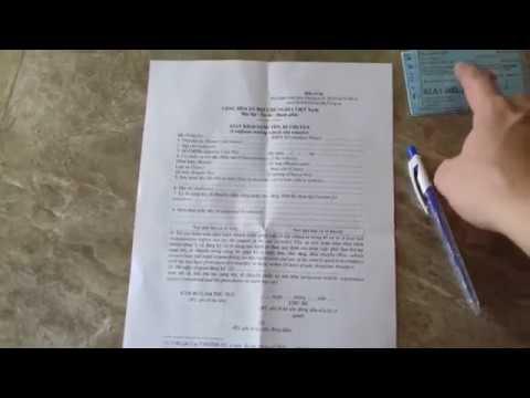 Rút hồ sơ xe khi sang tên khác tỉnh thành | HieuMT Vlog