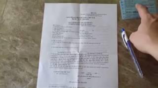 HieuMT Vlog - Rút hồ sơ xe khi sang tên khác tỉnh thành