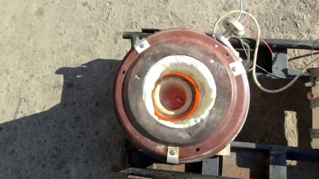 Homemade Electric Metal Melting Furnace - Homemade Ftempo