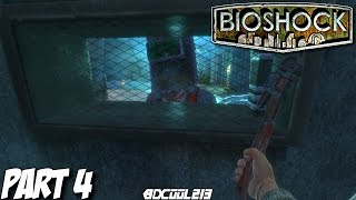 BIOSHOCK THE COLLECTION GAMEPLAY WALKTHROUGH PART 4 SMUGGLERS' HIDEOUT - BIOSHOCK PS4 LETS PLAY