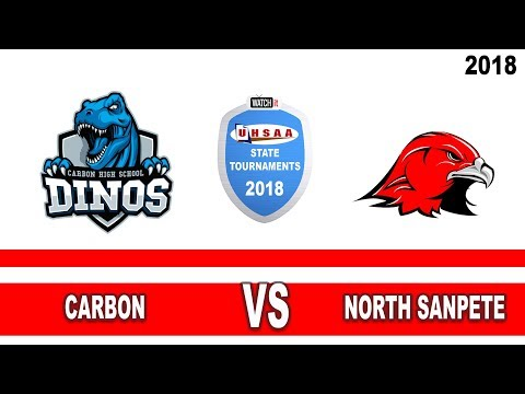 3A Softball: Carbon vs North Sanpete High School UHSAA 2018 State Tournament Round 1