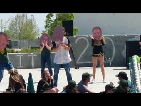 Sierra Pacific High School Teacher Fathead dance routine