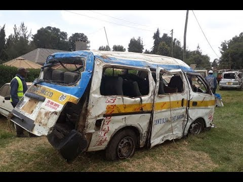 Nine killed in Nyahururu road crash