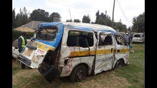 Nine killed in Nyahururu road crash