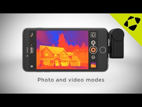 Seek Thermal Imaging Camera for Android and iPhones