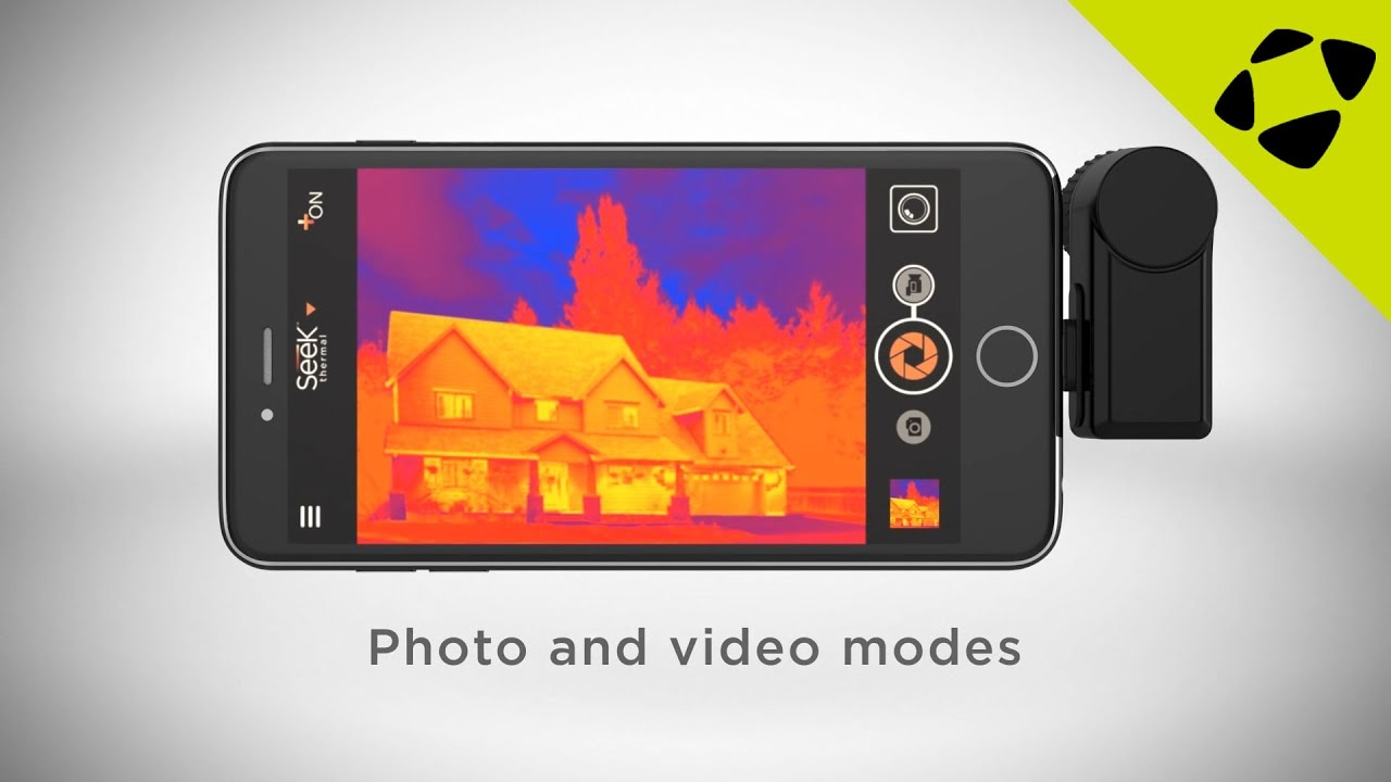Seek Thermal Camera >> Seek Thermal Imaging Camera For Android And Iphones Youtube