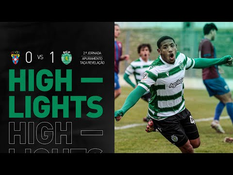 Sub-23   Resumo: CD Cova Piedade x Sporting CP