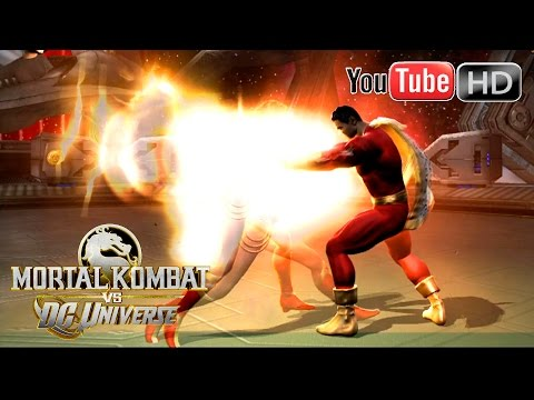 Mortal Kombat VS DC Universe [Xbox 360] - ✪ Wonder Woman Vs Captain Marvel ✪ | Full HD