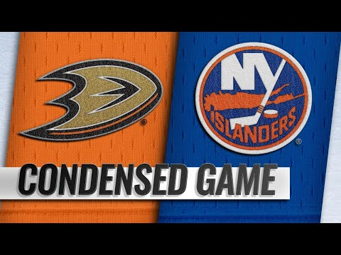 01/20/19 Condensed Game: Ducks @ Islanders