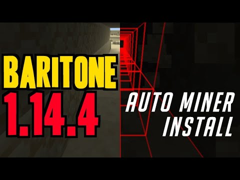 How To Get Auto Miner Minecraft Mod 1.14.4 - Download & Install Baritone 1.14.4 (on Windows)
