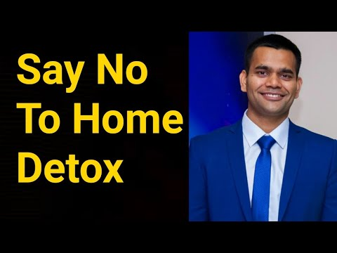 No Home Detox - Be Aware | Colon Cleaning At Home