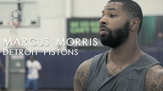 Marcus Morris is READY!! Pistons forward ready to BREAKOUT!