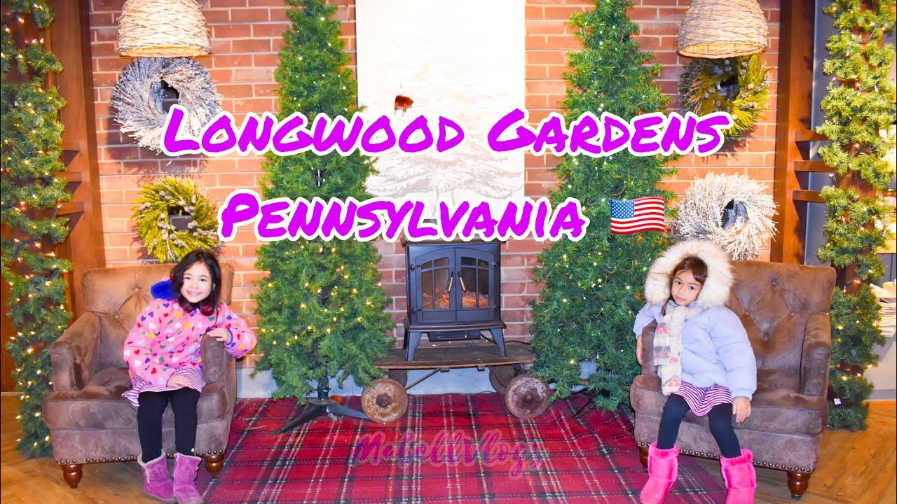 Begini cara bule amerika 🇺🇸 ngilangin' stress | Travel Vlog Longwood Gardens Pennsylvania