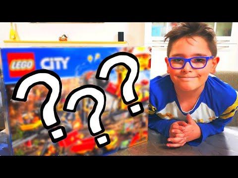 APRO UN LEGO A SORPRESA - LEGO CITY - Leo Toys