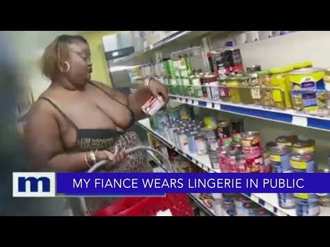 My fiancé wears lingerie in public!  The Maury