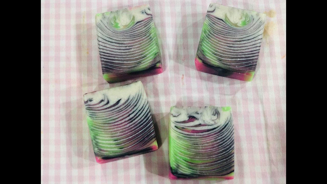 One pot swirl soap#1