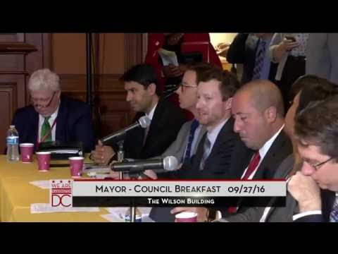 Mayor-Council Breakfast, 9/27/16