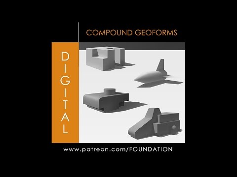 Foundation Arts - Digital: Compound Geo Forms