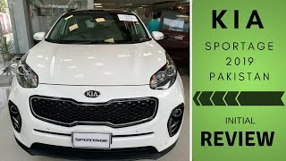 KIA Sportage Pakistan 2019 Initial Review   Interior & Exterior Features
