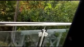 Uragano Ophelia dal balcone di due civitanovesi