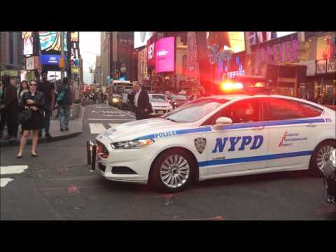 COMPILATION OF NYPD POLICE UNITS RESPONDING IN VARIOUS NEIGHBORHOODS OF NEW YORK CITY.  17