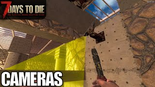 Motion Sensor Cameras | 7 Days to Die | Alpha 18 Gameplay | E65