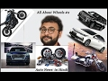 All about wheels #2 | Toyota corolla | Lexus 2017 | TAMO | VW V/S Toyota |supercharged bikes | RD350