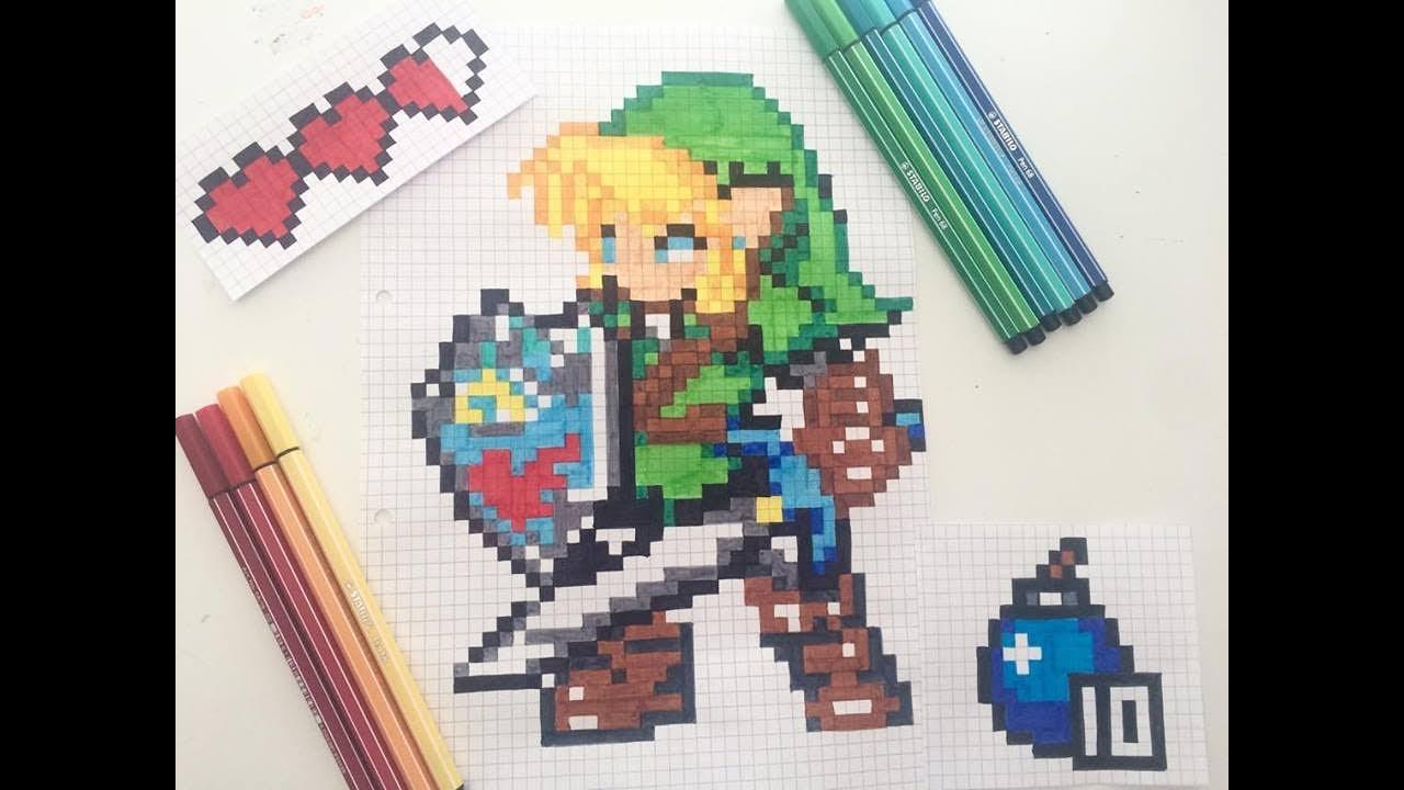 Pixel Art Lunivers Zelda