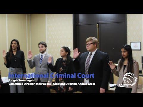 International Criminal Court: Judges Swearing-In   SRMUN Charlotte 2018