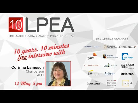 10 Years, 10 Minutes with Corinne Lamesch, Chairperson of ALFI