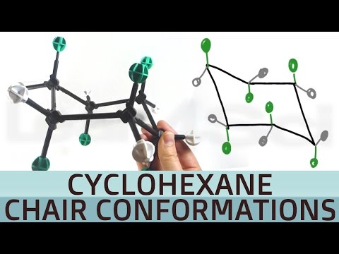 Cyclohexane Chair Conformation and Axial Equatorial Stability