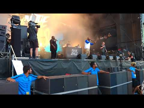 """Run The Jewels calls Fan on stage at ACL to Rap """"Oh My Darling Don't Cry"""""""