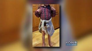 Longview elementary student sent home in diaper